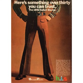 Twenty-Five Men's Fashion Ads in Playboy 1966-1977