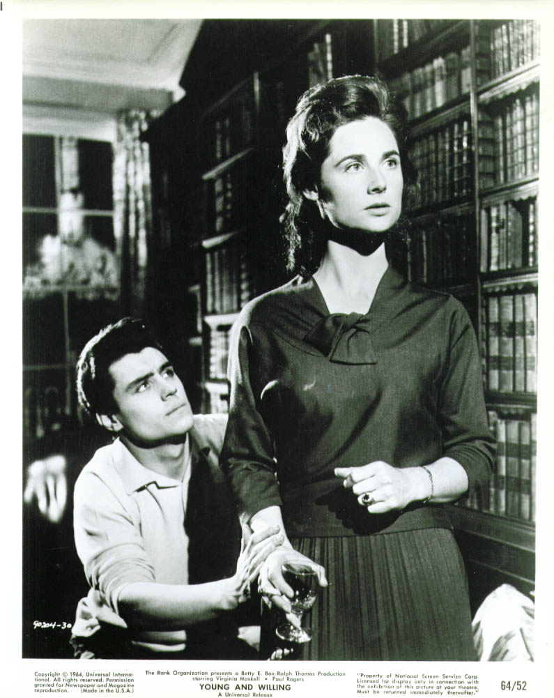 Ian McShane and Virginia Maskell in Young and Willing