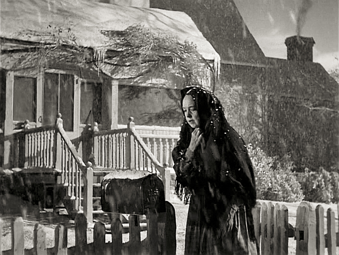 Lillian Gish in The Night of the hunter