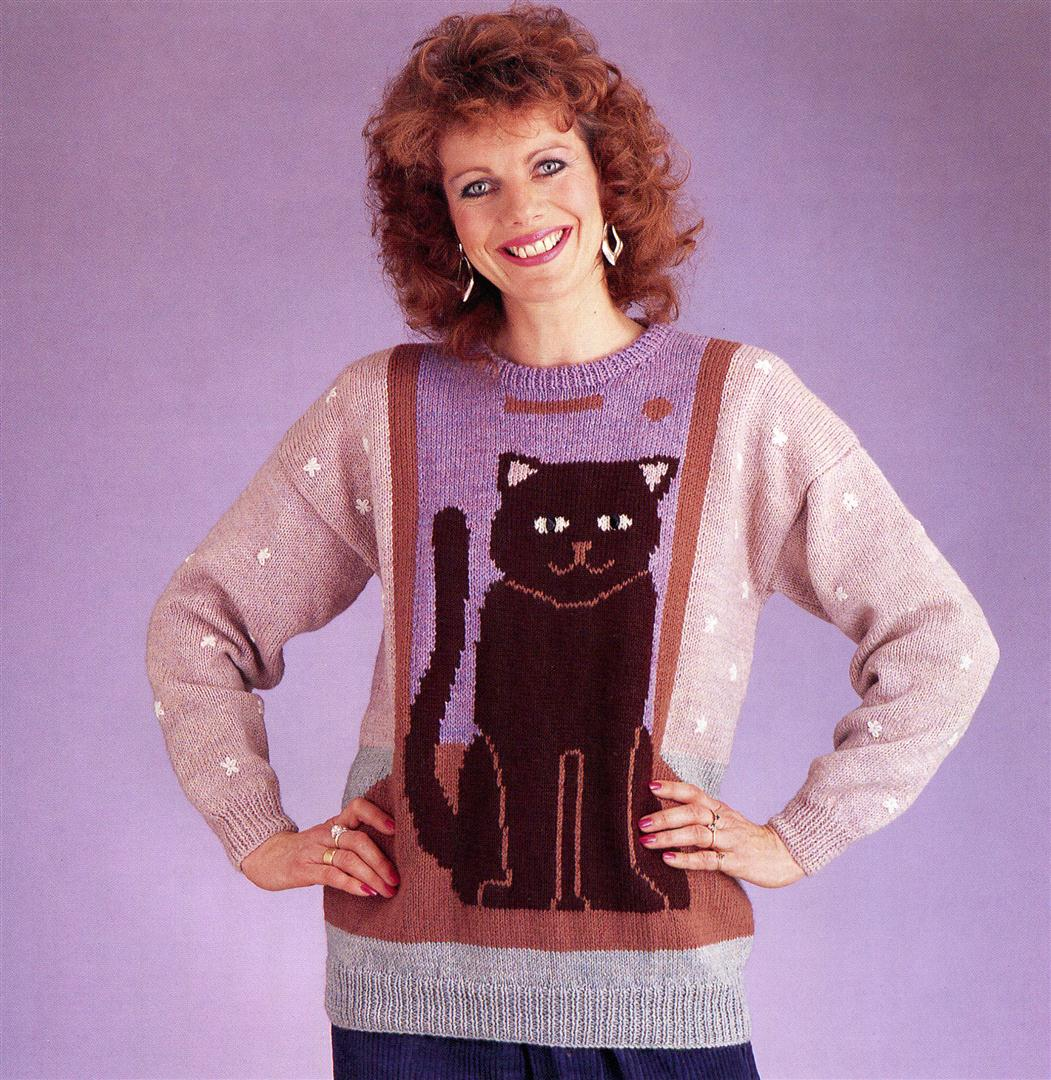 Lizzie Webb ugly jumpers sweaters 1980s