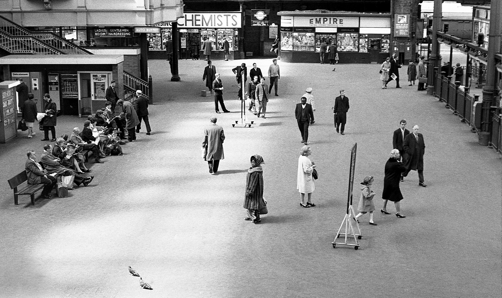 Liverpool Street Station, London 1967