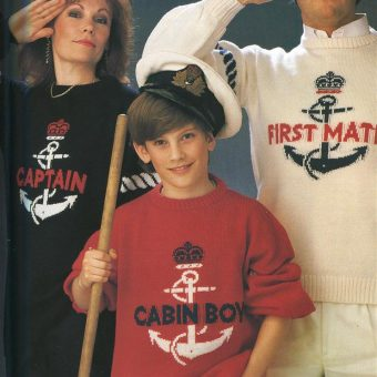 A Brilliant Study In 1980s Jumpers and Knitting