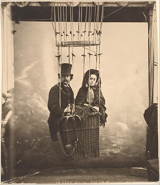 Nadar and his wife Ernestine