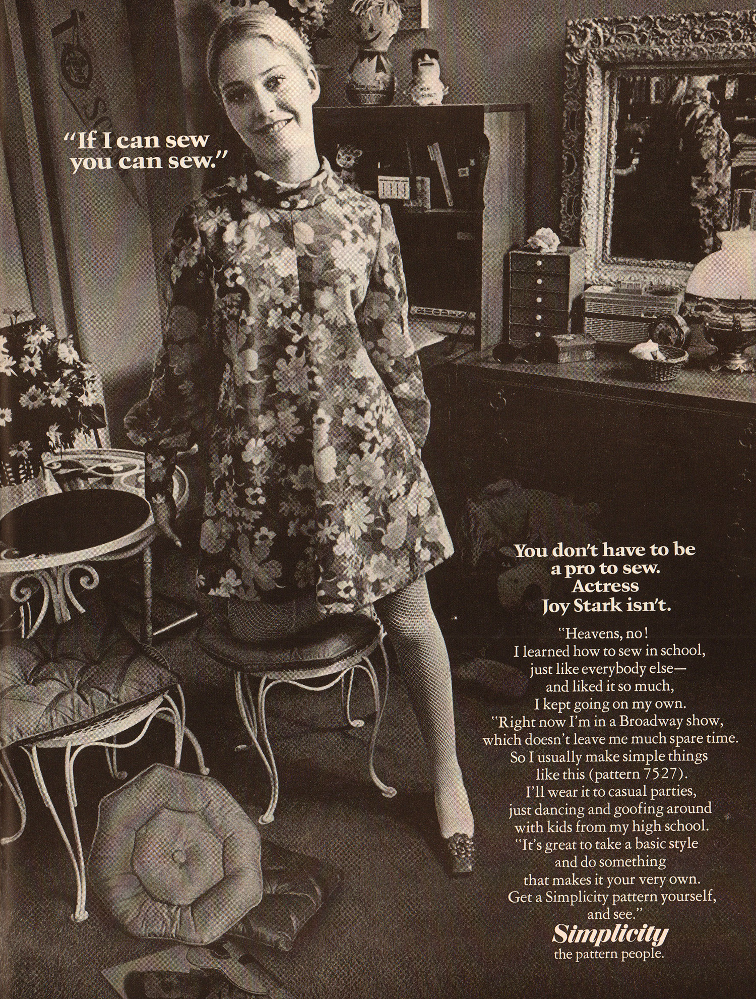 sewing 1968 teen magazine
