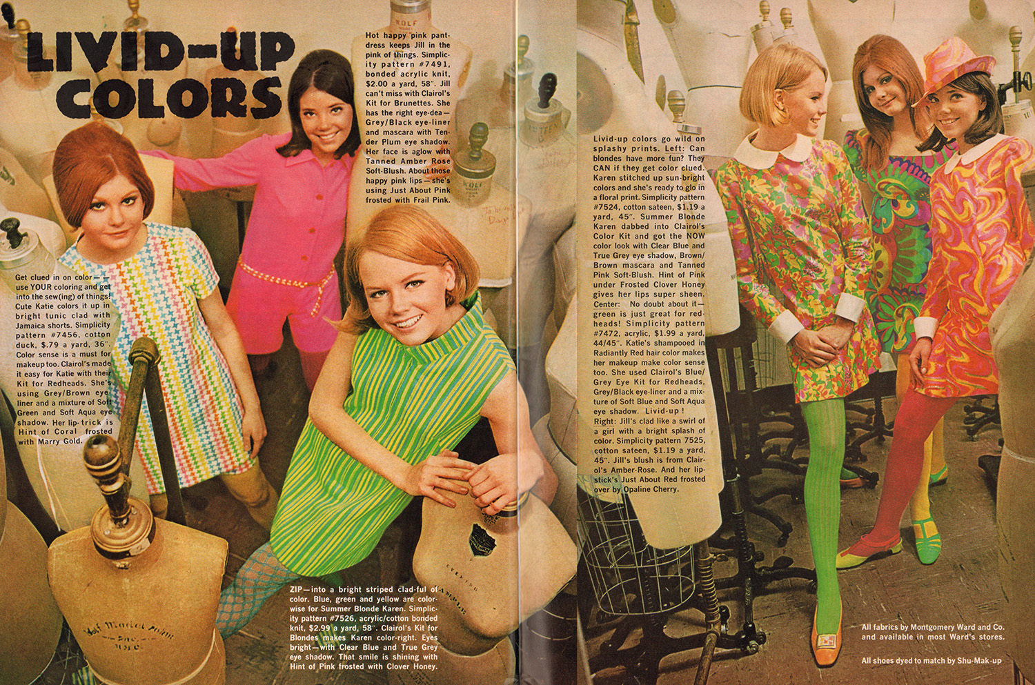 1968 teen fashion