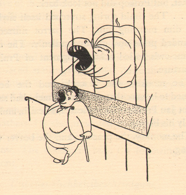 The Animals Are in Cages Illustrations by Adolf Hoffmeister for his own The Animals Are in Cages, published by Greenberg in 1941. The Bodley Head issued the book in the UK as The Unwilling Tourist. Both versions feature Don Perris's translation. Read the flap for more info. The book is crying out for rediscovery, and right now it's not too hard to find. See all posts featuring Hoffmeister