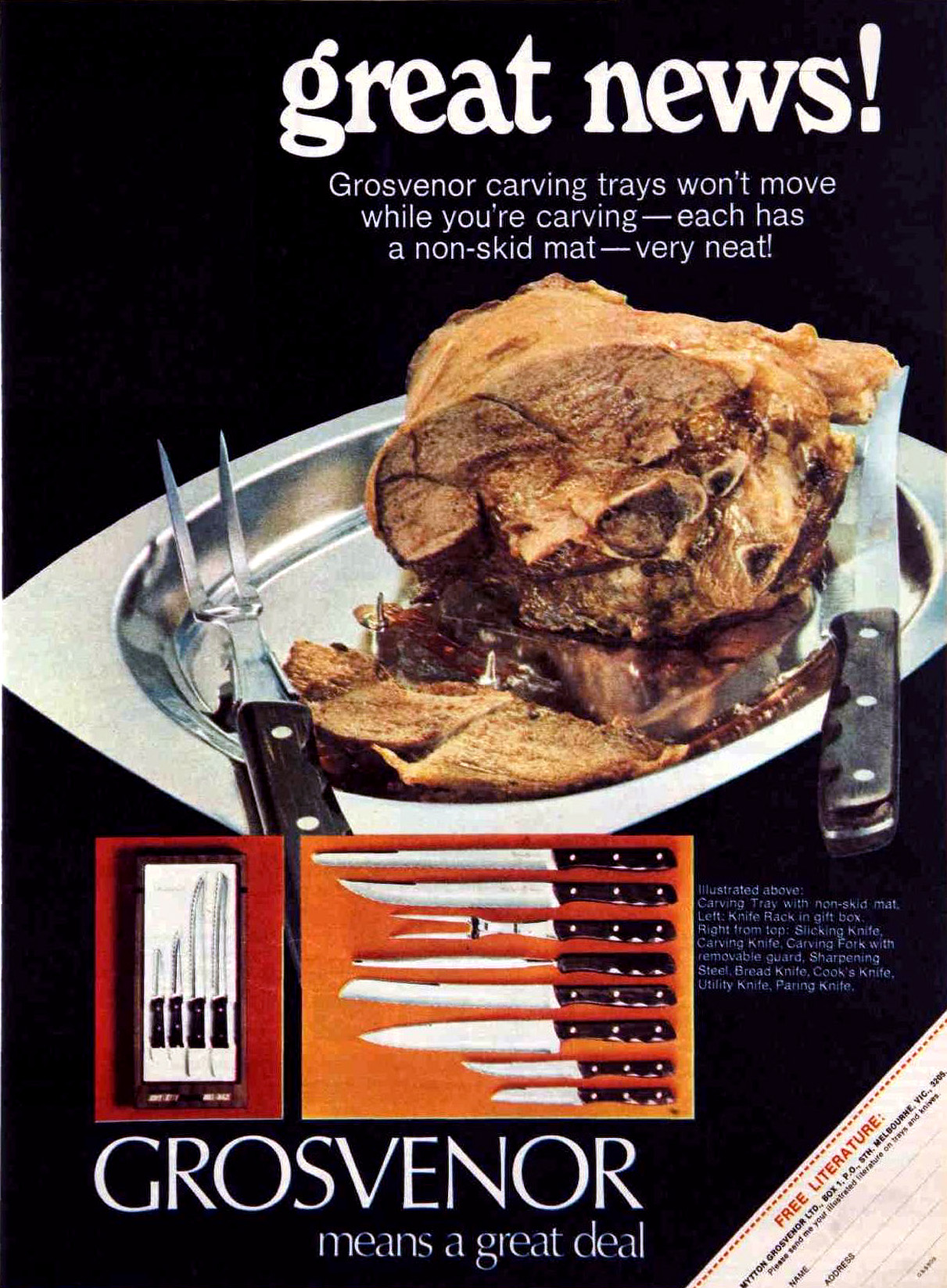 1968 food advert