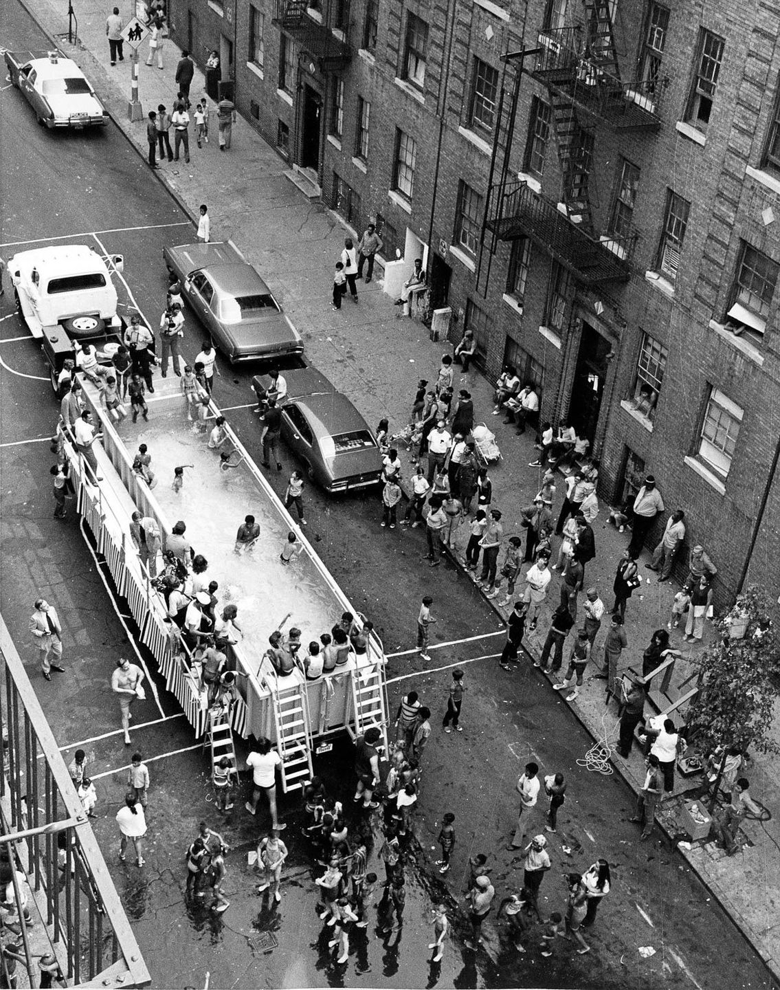 New York c. 1960 NYC Parks Department Swimmobile.