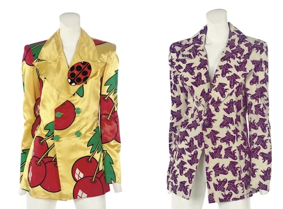 These Alkasura jackets sold for around £1,200 at a Christie's auction in 2008. King's Road London