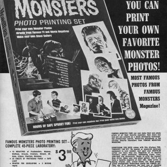 Monster Stuff for Kids! Vintage Horror Comic & Magazine Adverts
