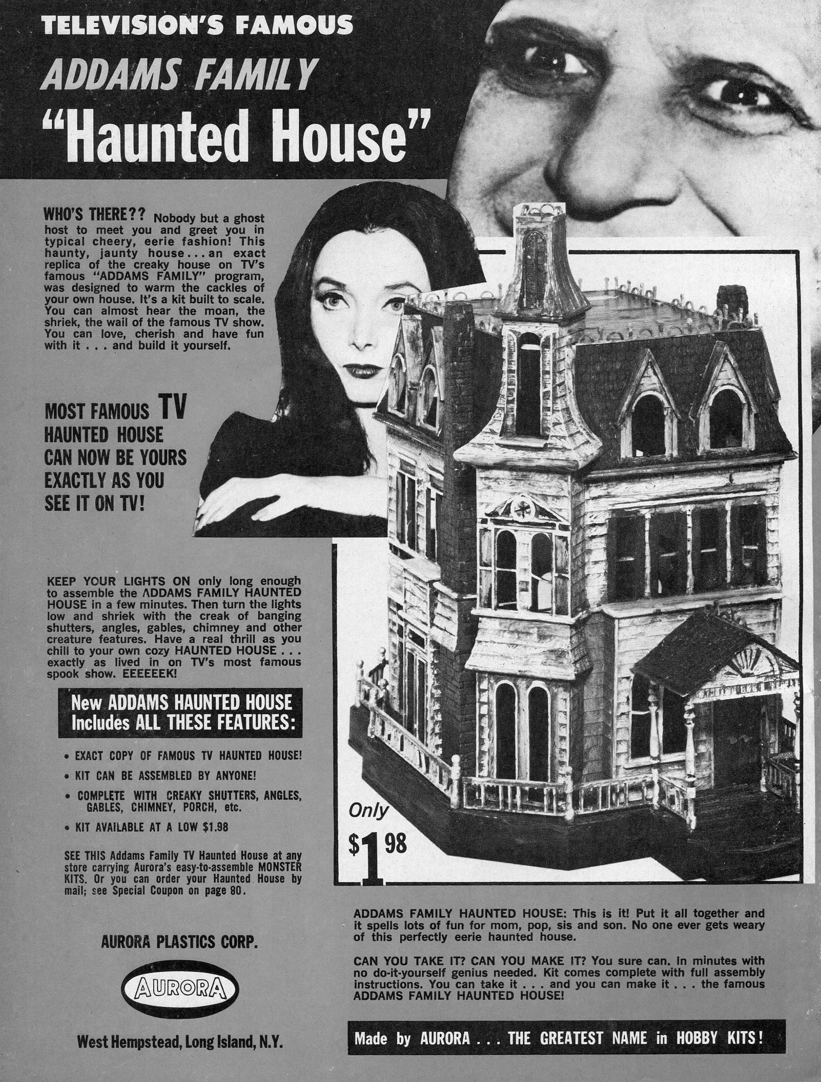 Addams family advert