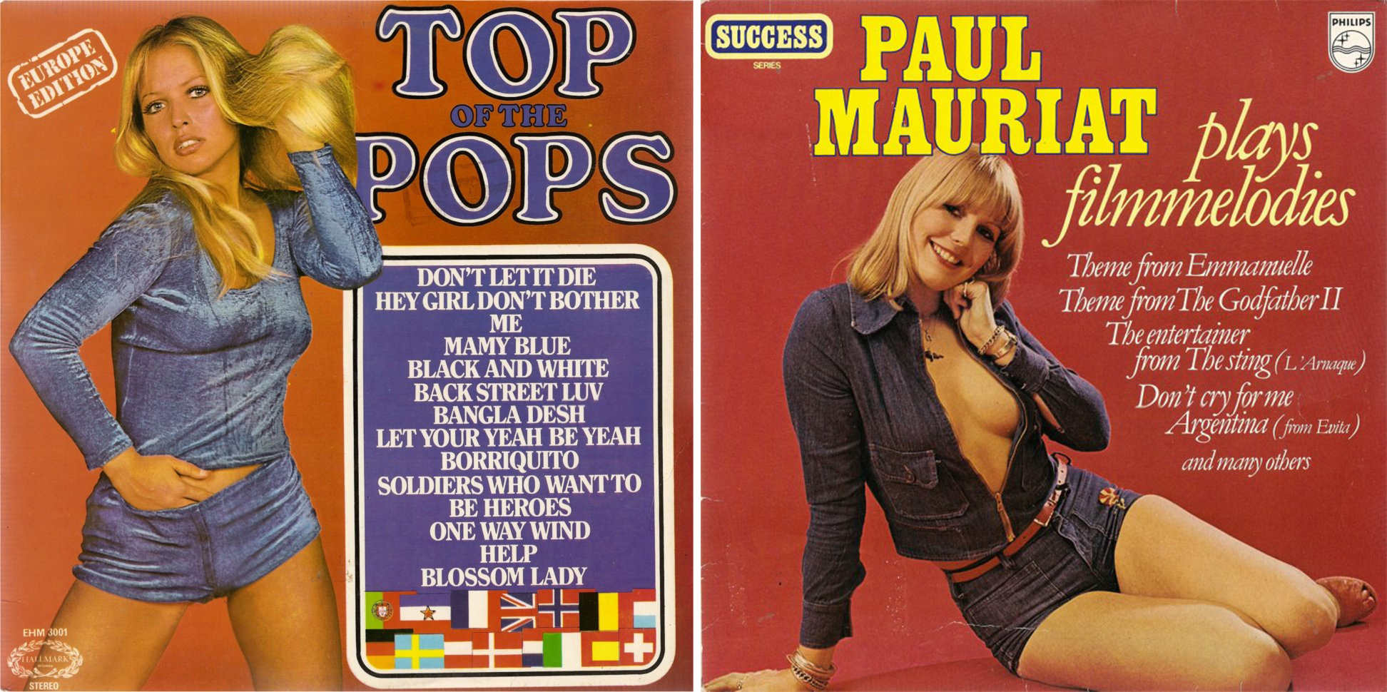 hotpants-record-covers