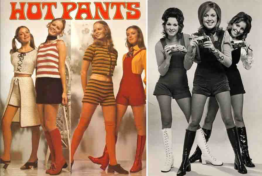 hotpants-vintage-models