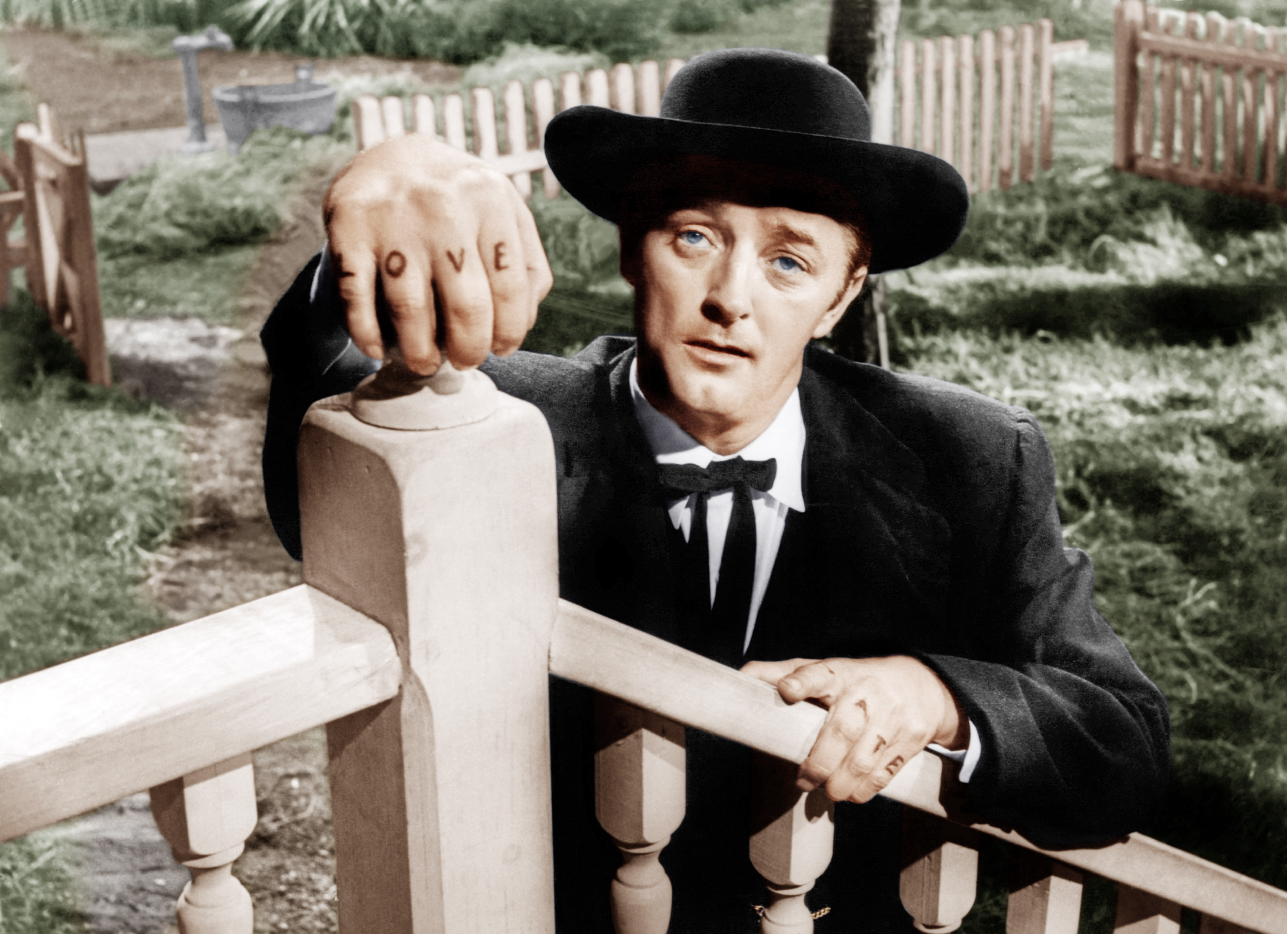 THE NIGHT OF THE HUNTER, Robert Mitchum, 1955 THE NIGHT OF THE HUNTER, Robert Mitchum, 1955