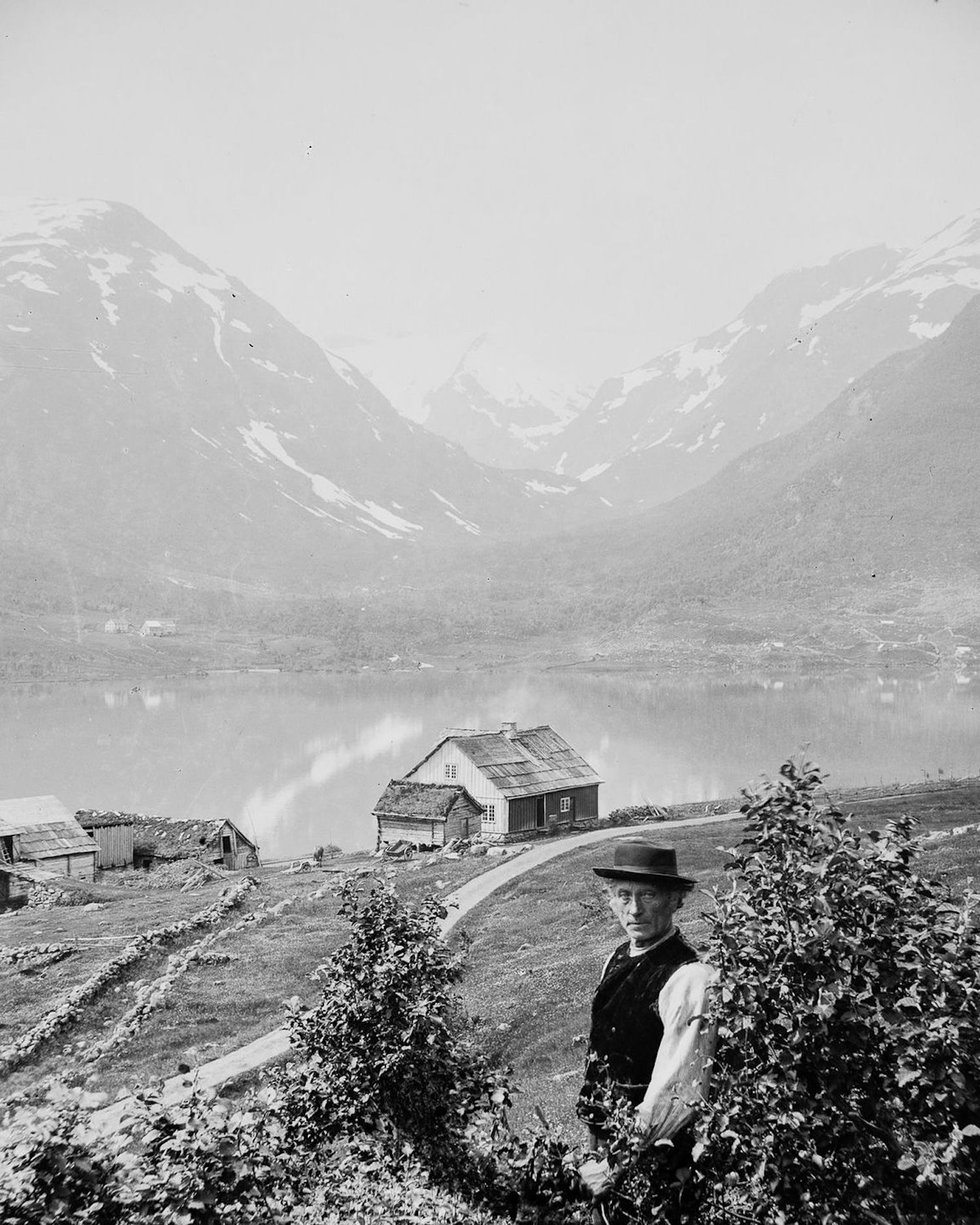 Spectacular Photographs Of Sogndal In 1900 The People Of