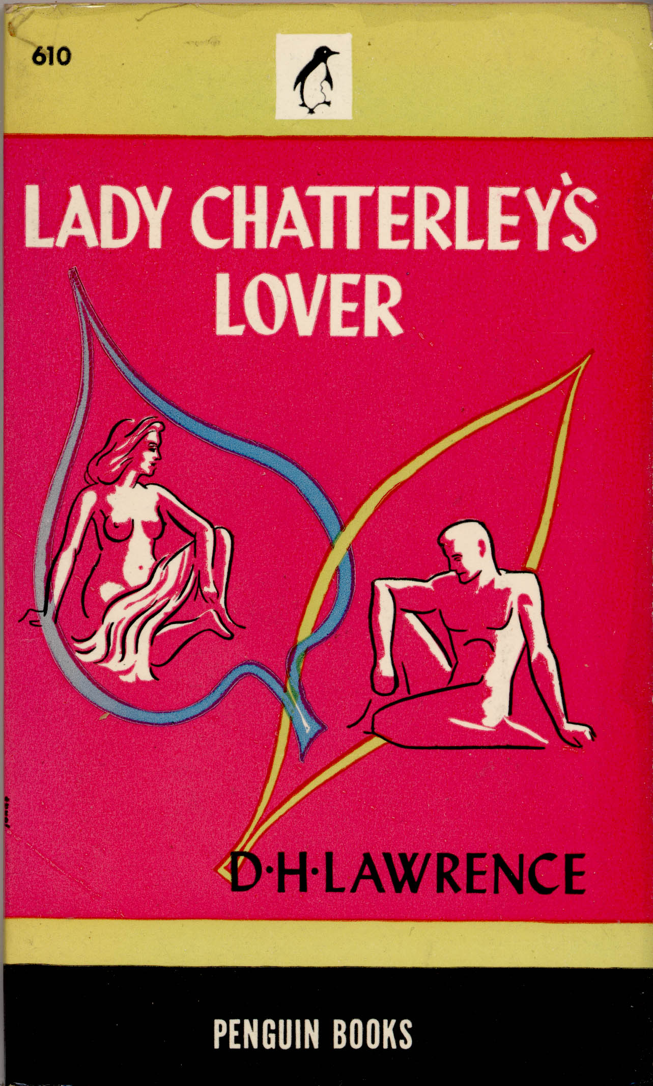 1946 2nd Print Lady Chatterleys Lover By D H