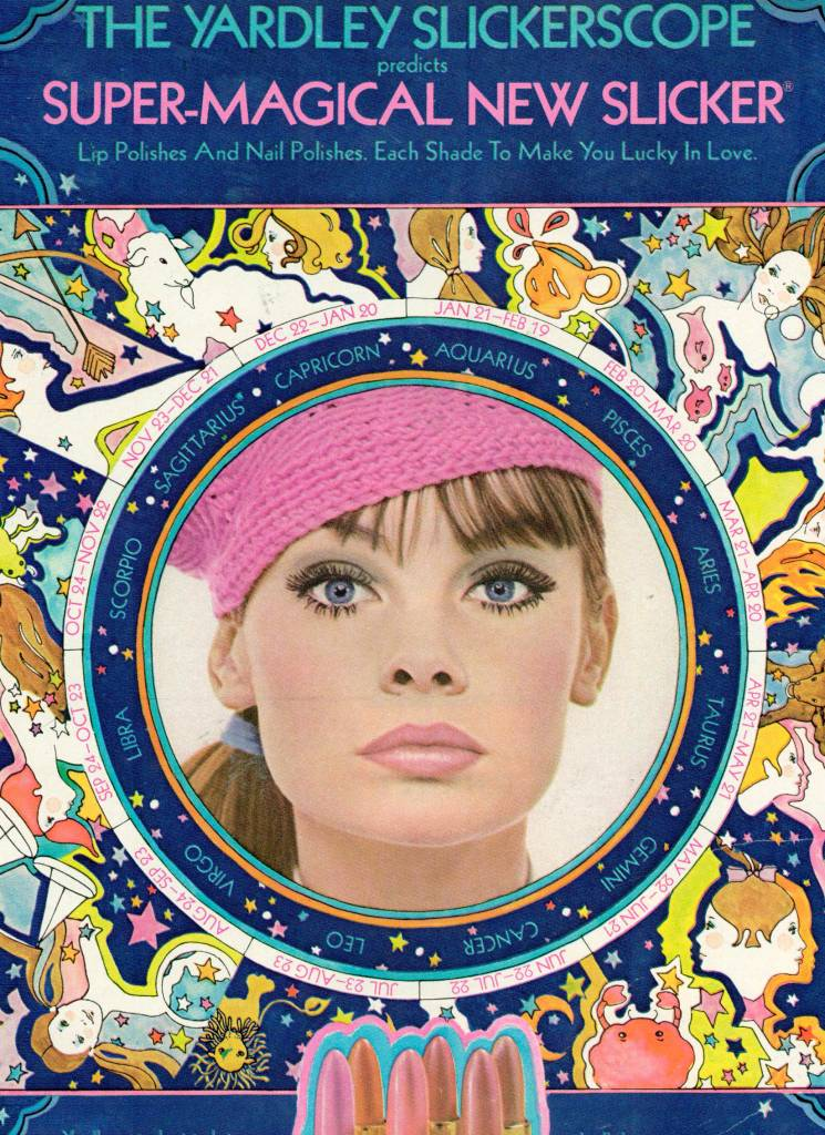 High-Gloss and Hot Pink: Lipstick Adverts from the 1960s ...