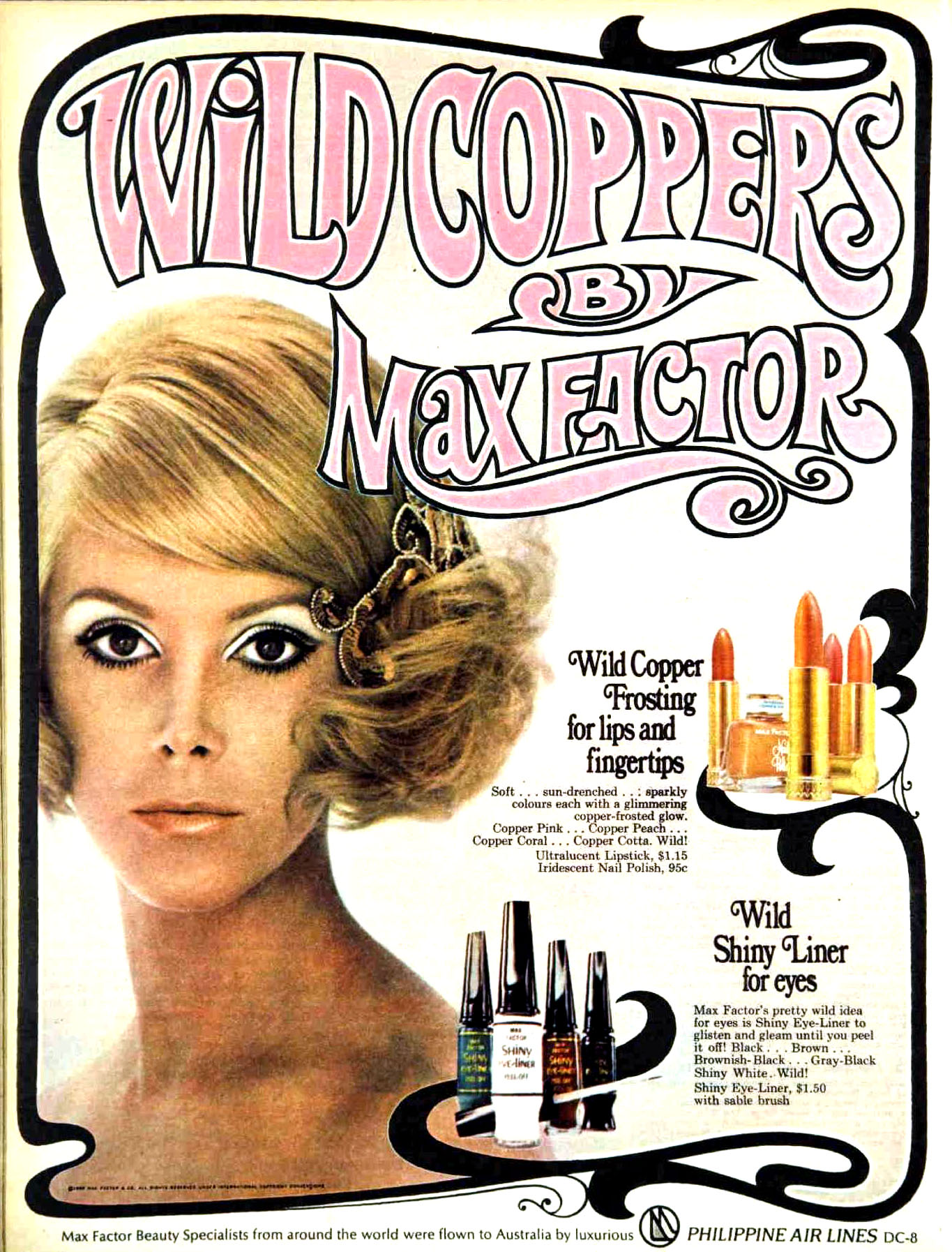 High-Gloss and Hot Pink: Lipstick Adverts from the 1960s