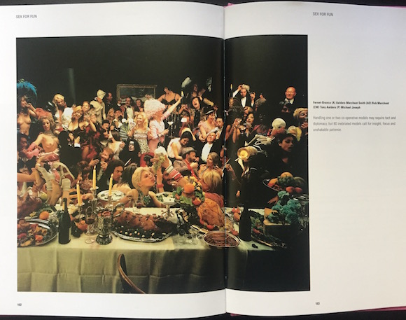 The Michael Joseph image which was to be central to the 1971 Fernet-Branca campaign was featured in Dave Saunders' survey Sex In Advertising, published by Batsford Books in 1996