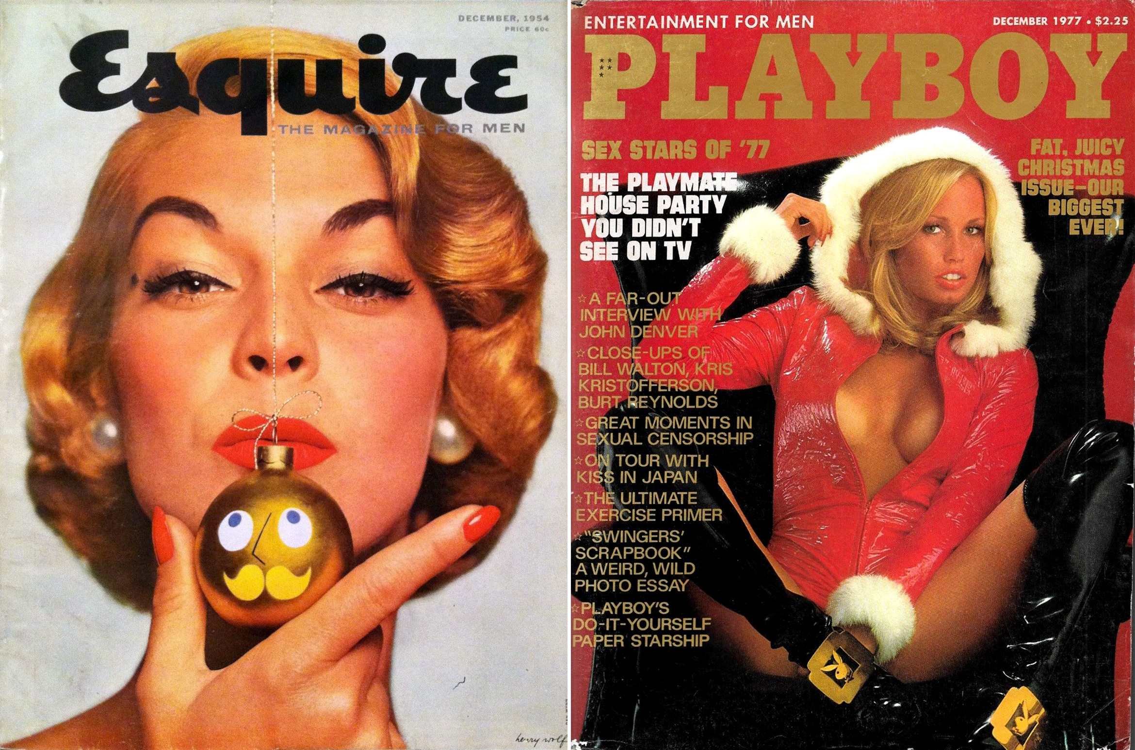 december-1954 1977 christmas issues