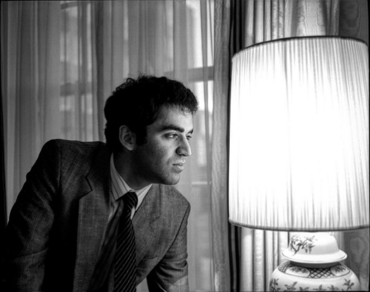 Gary Kasparov, 1986. The World Chess Champion in London while preparing for his match against Karpov - he was perhaps the greatest player in history.