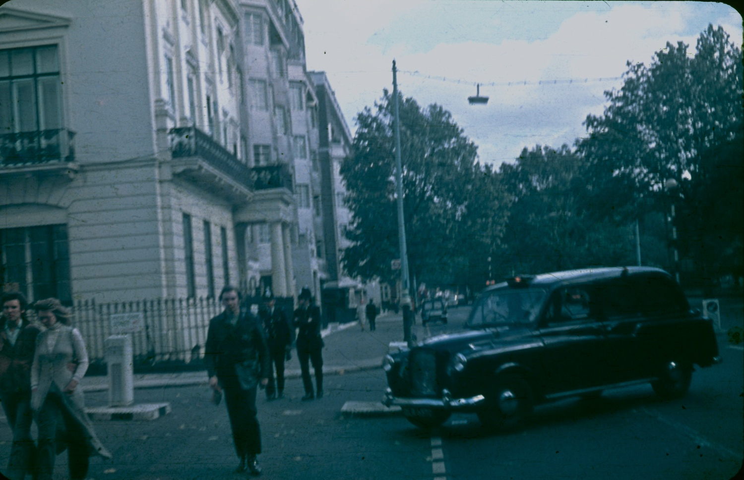 London 1970 taxi
