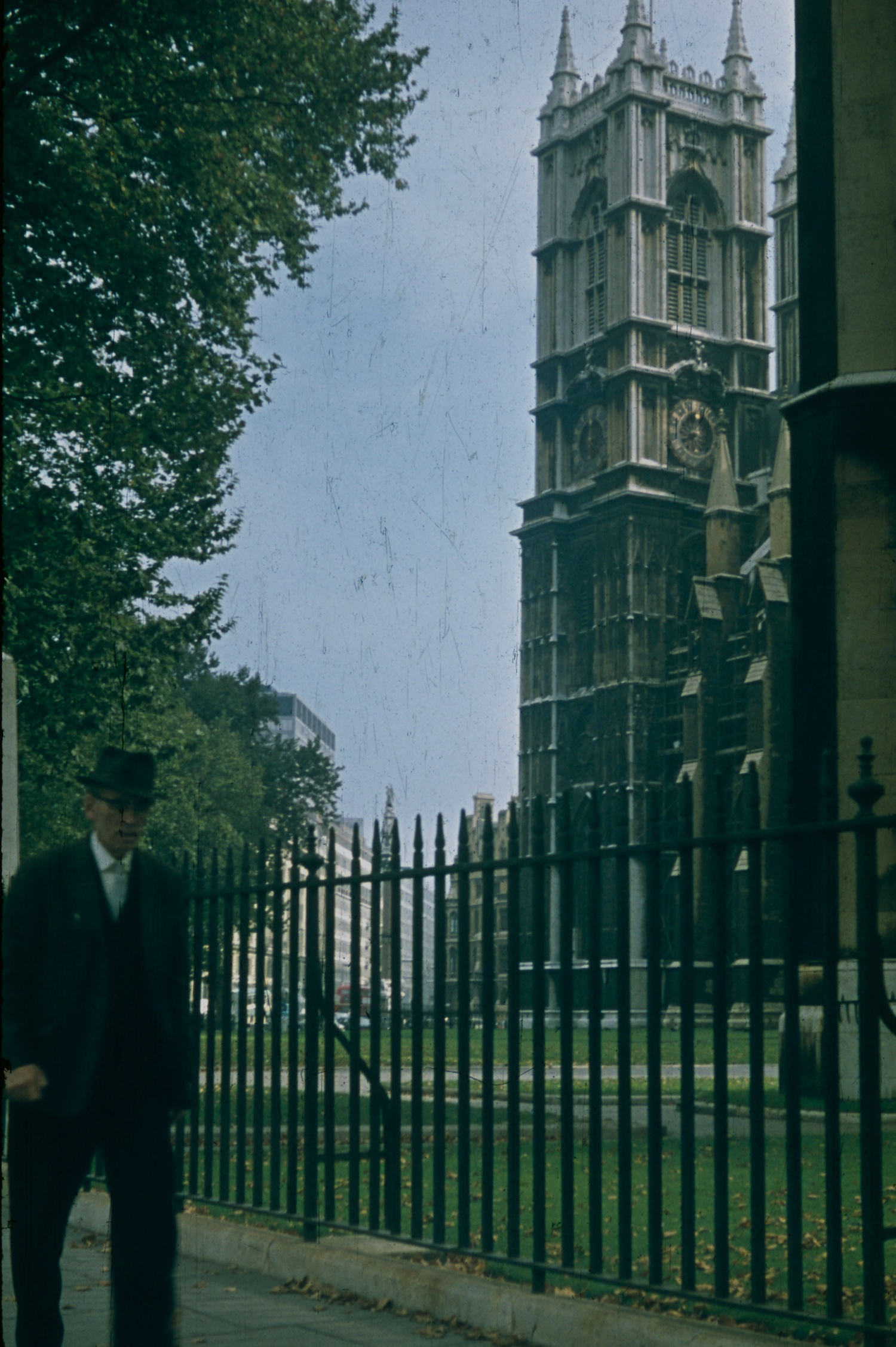 London 1970 Houses of Parliament