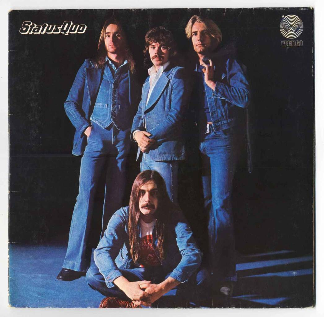 "Blue For You - Status Quo's 1976 Album. The 1976 ""Mystery Song"", co-written with Bob Young, was composed after Rossi had laced Parfitt's tea with amphetamine sulphate during the sessions for the Blue for You album. Rossi later said: ""He was playing the riff when we left the studio, and he was still playing it when we came back the next day!""[10]"