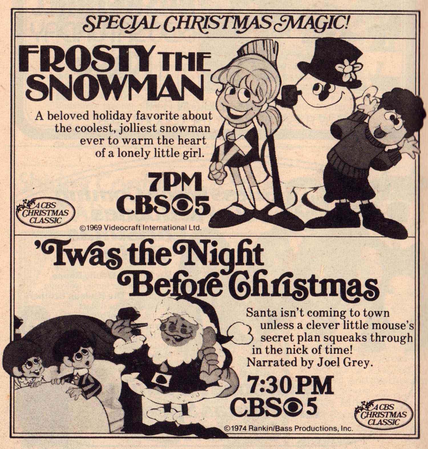 tv guide dec 8 141979 1 - Classic Christmas Specials