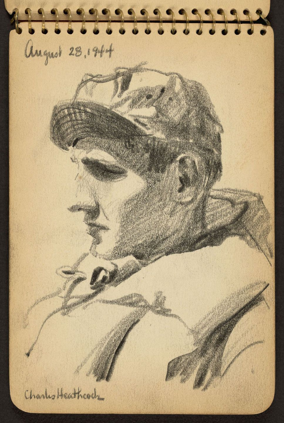 World War II Sketches by Victor A. Lundy