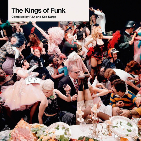 A clear view of Nylon at the centre of this tableau used on the front cover of The Kings Of Funk, BBE Records, 2005. Photo: Michael Joseph