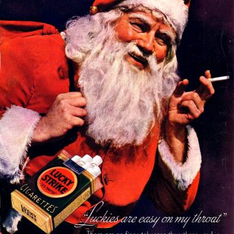 Cigarettes from Santa: Vintage Tobacco Christmas Advertising