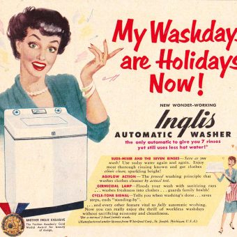 Kitchen & Laundry Miracles! Vintage Appliances and the Women that Loved Them
