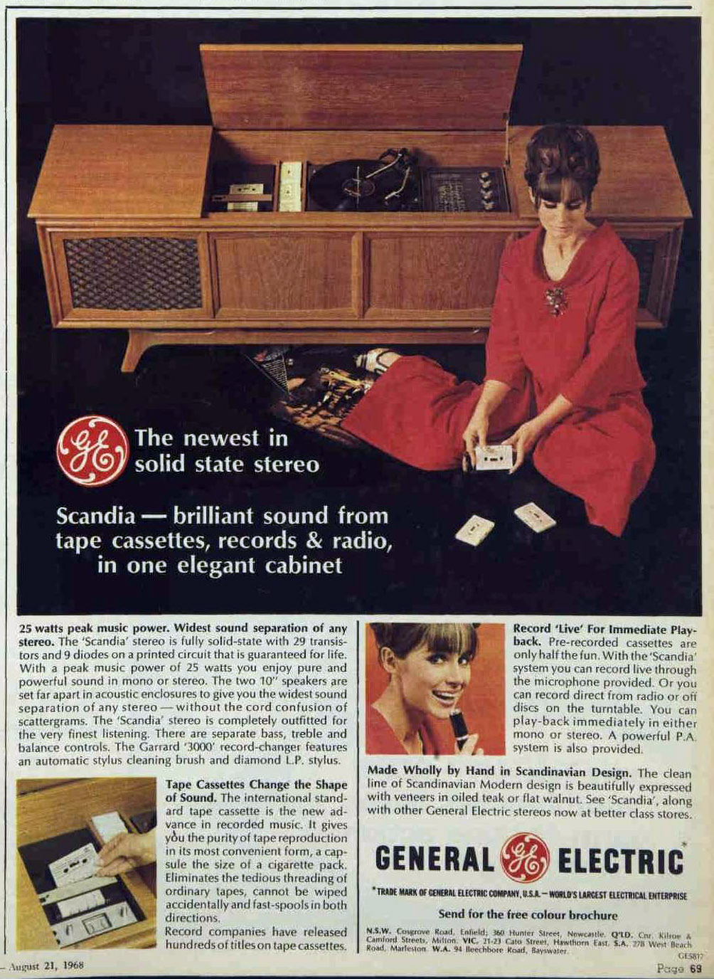 Hi-Fi Heaven: Stereo & Record Player Advertising (1960s-1980s