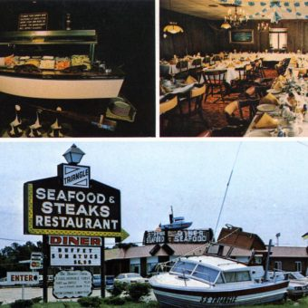 The Foods of Provincial New Jersey In Vintage Postcards