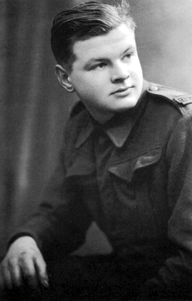 Benny Hill in the army c.1944.