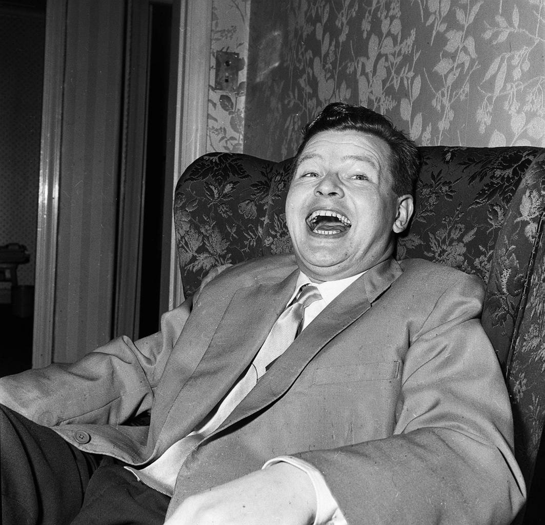 Benny Hill in 1957