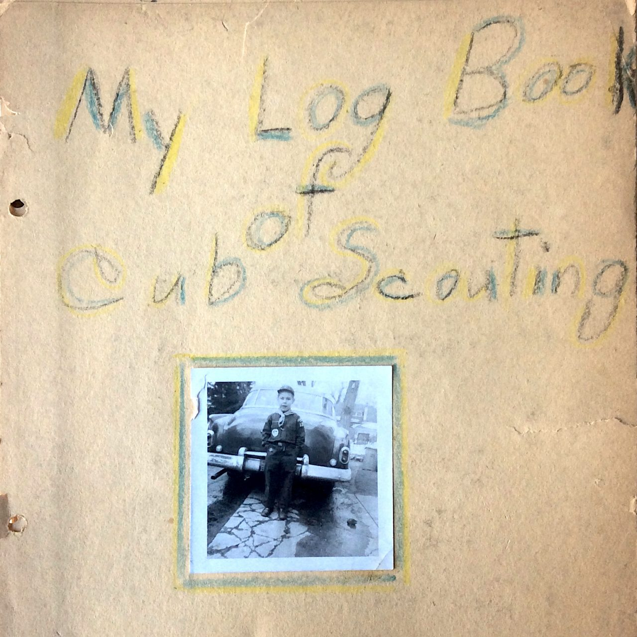 Bobcat Pins, Hot Chocolate and Toast – My Cub Scout Log Book (1957)