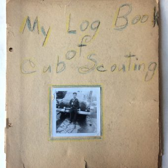 My Cub Scout Log Book (1957)