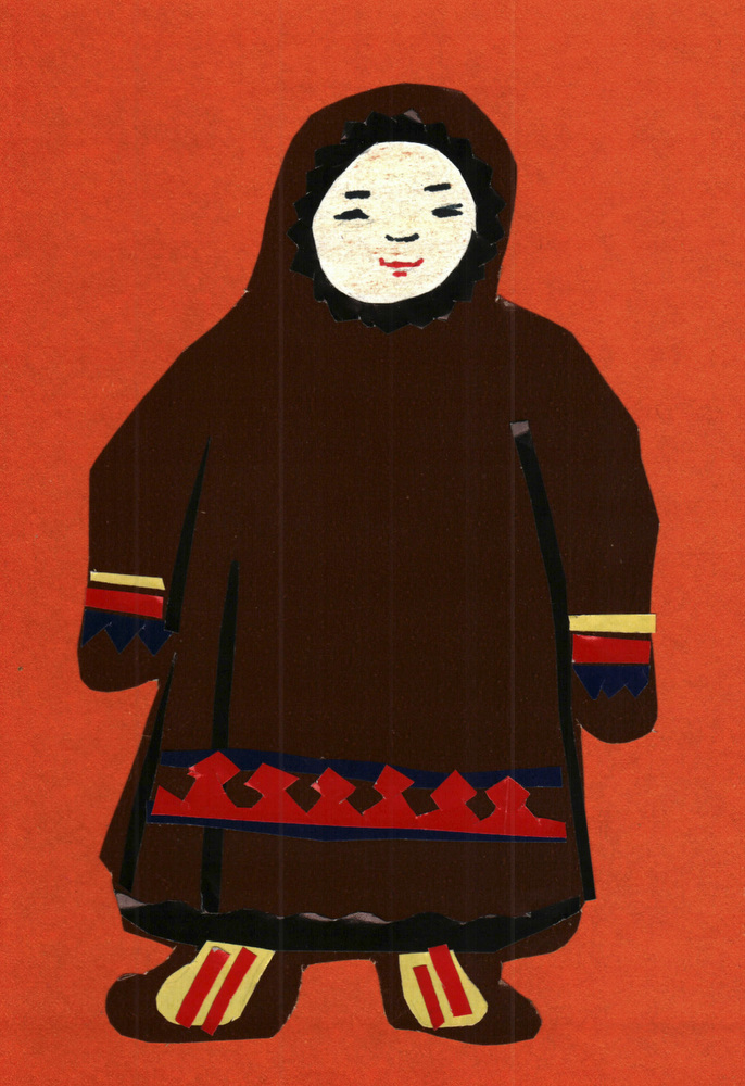StudentÕs art work of a Nenets.