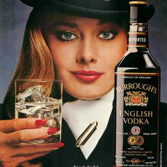 Women Selling Booze: The Ladies of Vintage Alcohol Advertising