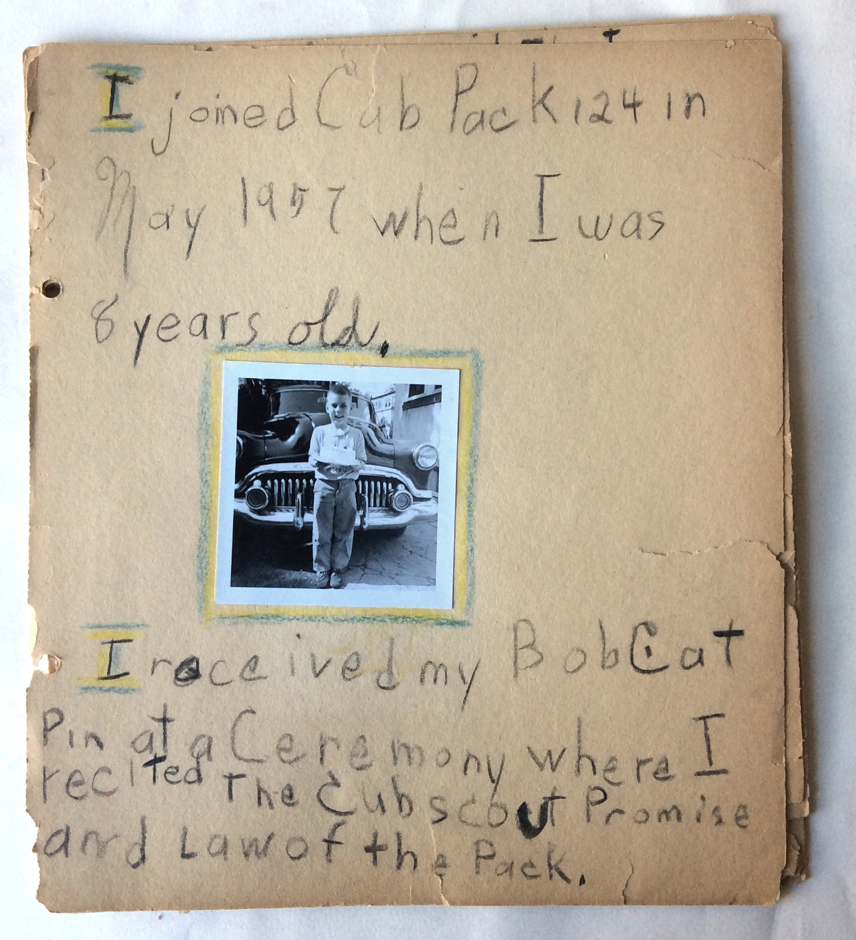 Cub Scout Log Book