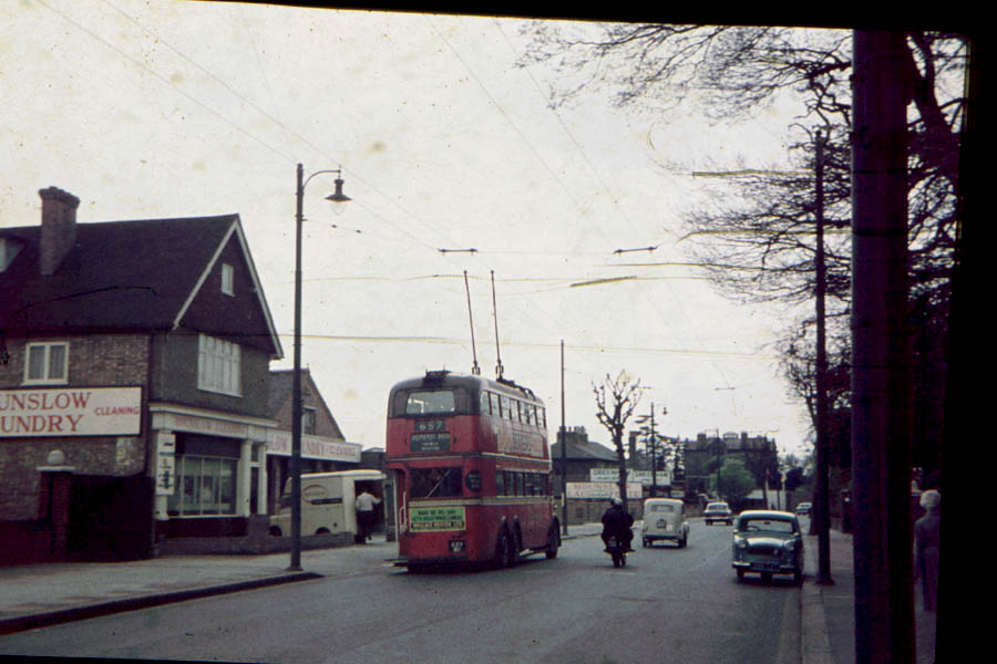 Trolley Bus London 1962
