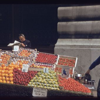 Color Photographs Of London 1961