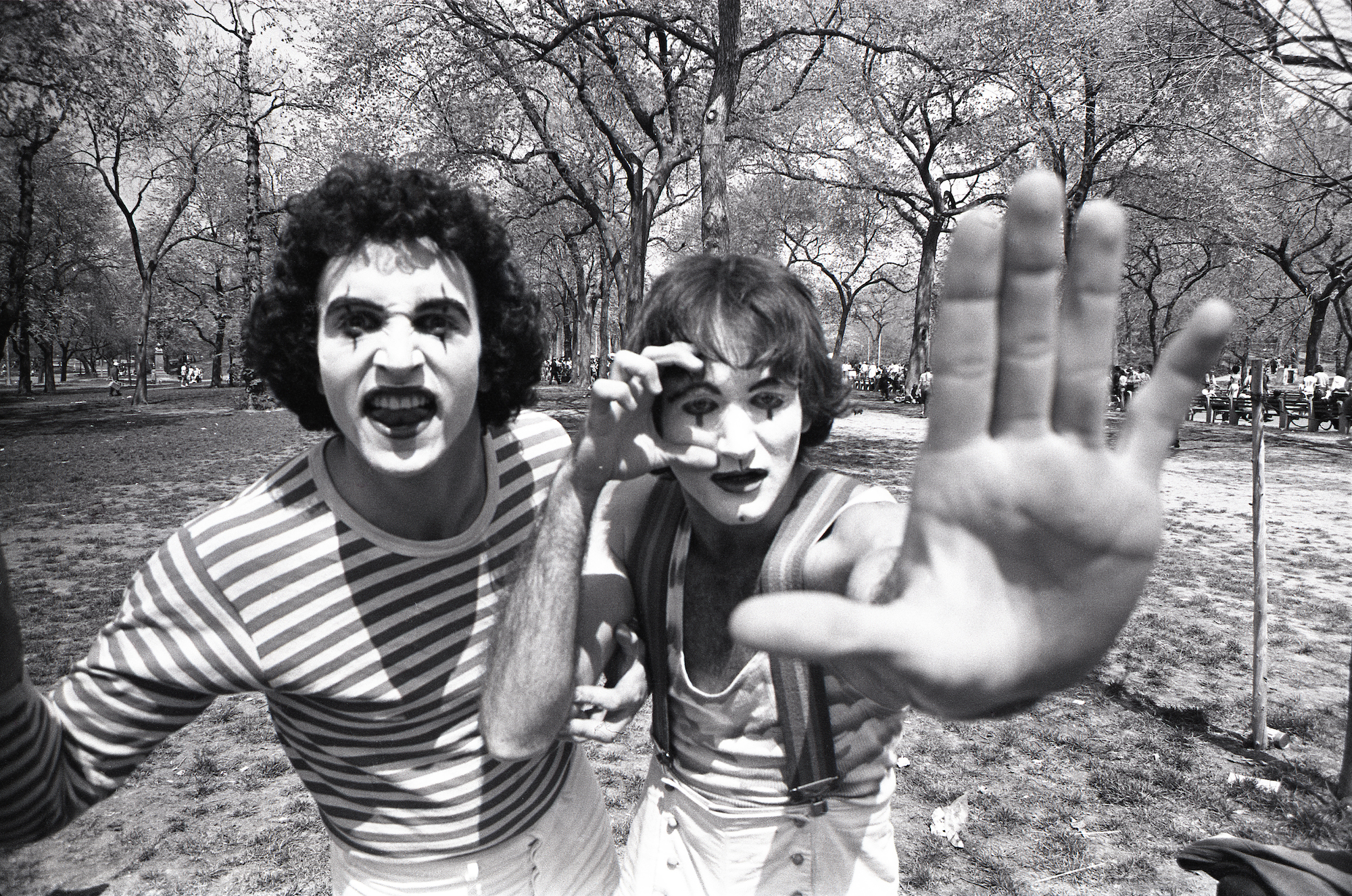 Robin Williams Central Park New York 1974