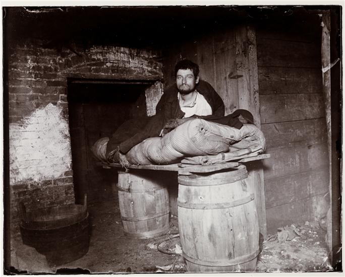 """""""Slept in that cellar four years."""" DATE:1994"""