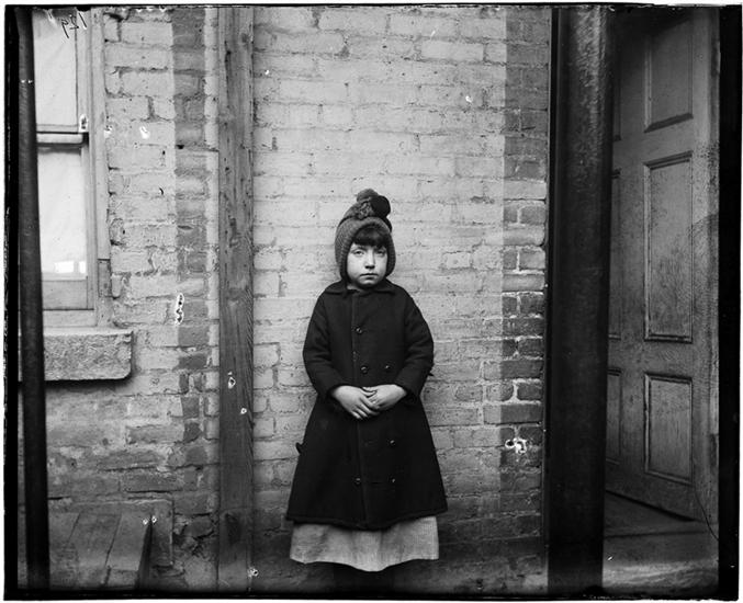 """I Scrubs."" Katie , who keeps house in West Forty-ninth Street. DATE:ca. 1890"