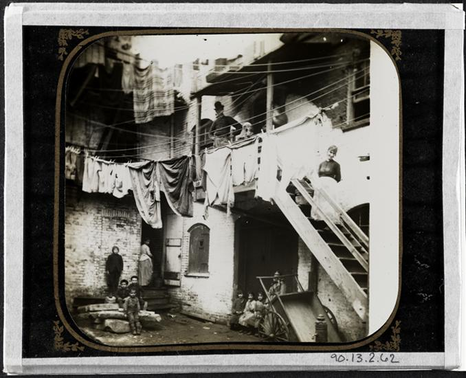 Court at No. 24 Baxter Street. DATE:ca. 1890