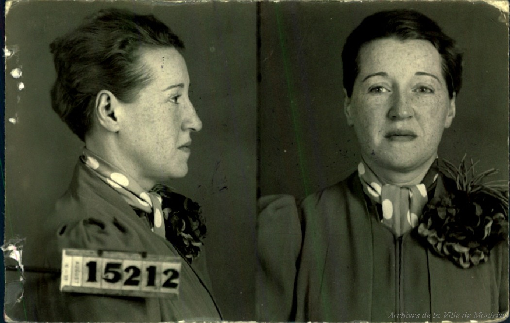 Montreal police 1940 crime prostitutes sex