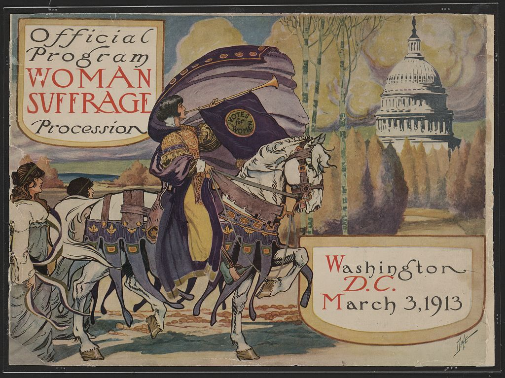 official-programme-womens-suffrage 1913